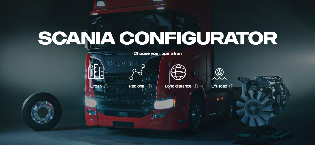 Scania Launch their Configurator